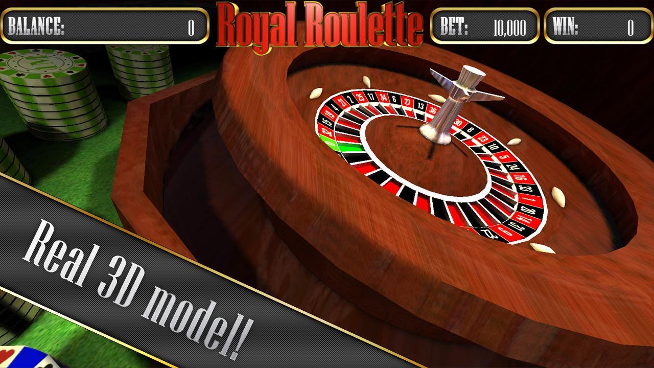 Roulette 3d by pokiesoft apk