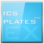 ADW APEX GO - ICS Plates Theme