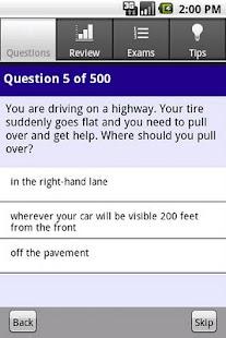 California Driver License Prep- screenshot thumbnail
