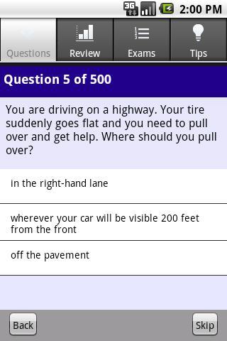 California Driver License Prep- screenshot