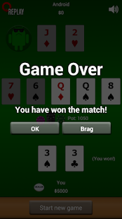 Poker Heads Up: Fixed Limit - screenshot thumbnail