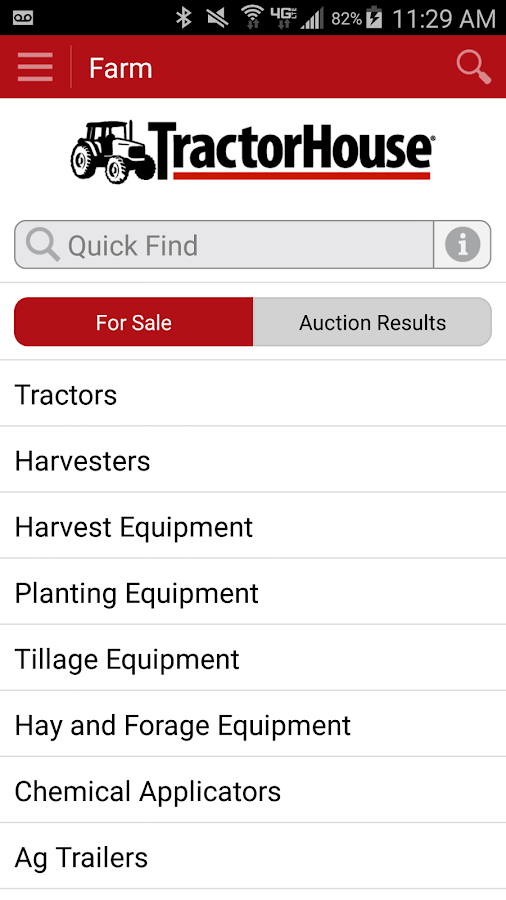 TractorHouse- screenshot