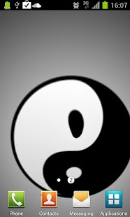 How to mod Yin Yang Live Wallpaper patch 1.6 apk for bluestacks