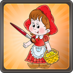 Coloring Game Little Red for PC and MAC