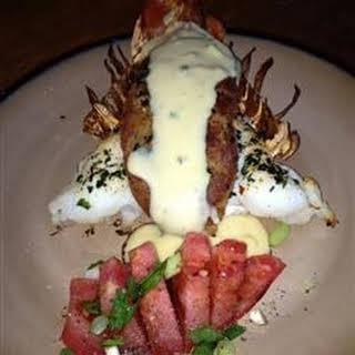Cheesy Stuffed Lobster.