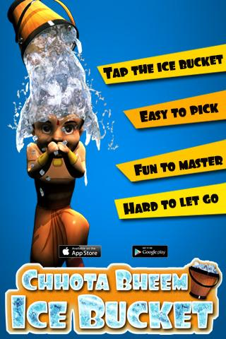 Ice Bucket for Chhota Bheem