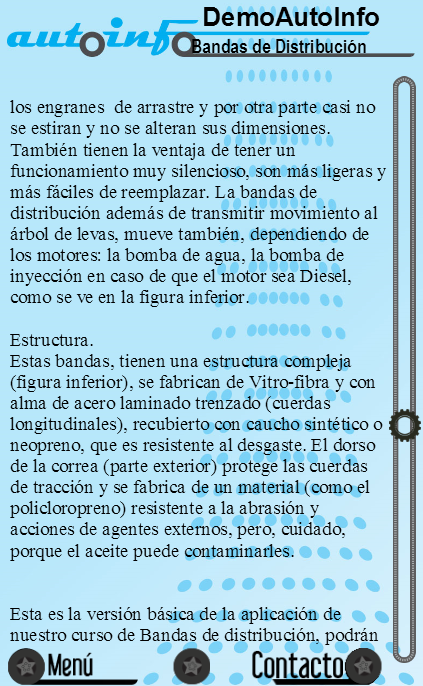Demo Bandas de Distribución- screenshot