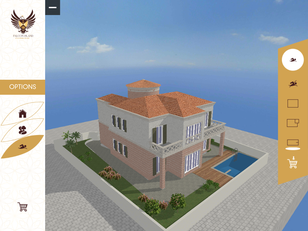 Falcon Island Homebuilder- screenshot