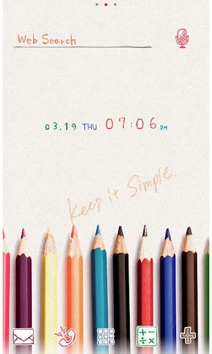 Cute Wallpaper Colored Pencils 1.0.1 Windows u7528 1