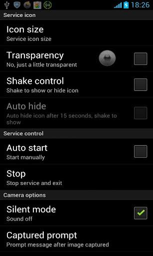 Quick Camera 1.2.20130329 screenshots 1