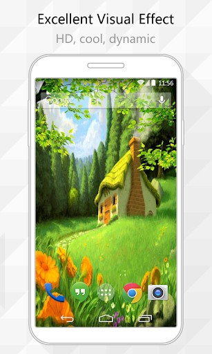 Cottage Live Wallpaper