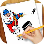 Learn to Draw Hockey Logos