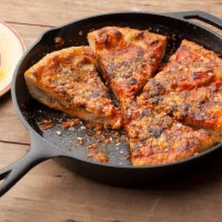 Chicago-Style Deep Dish Pizza.