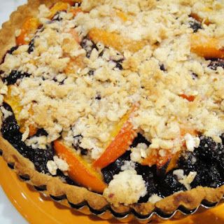 Blueberry Crisp Tart