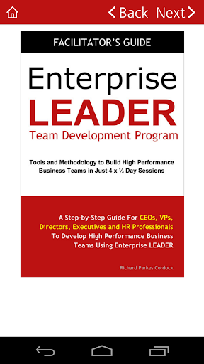 Enterprise LEADER Guide TEAM
