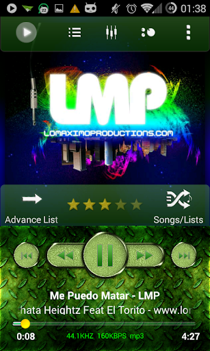 Poweramp Skin Green Forest