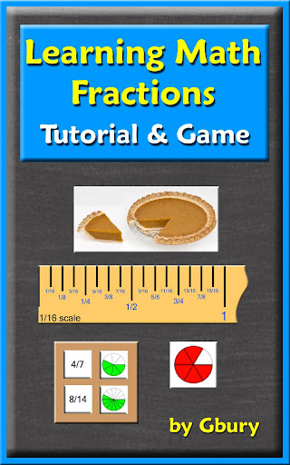 Math Fractions Tutorial Game