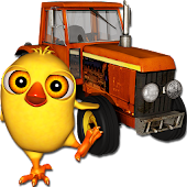 El Pollito Pio 3D de la Granja