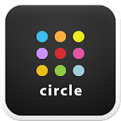 Circle go launcher theme