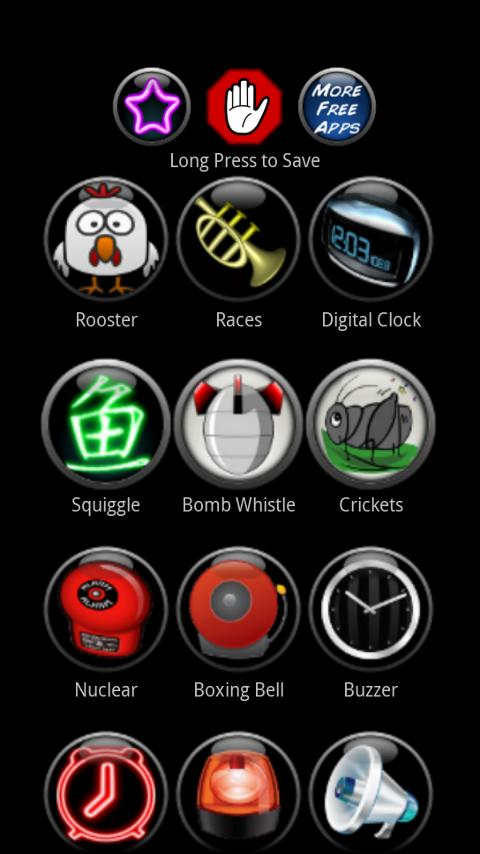 LOUD Alarm Ringtones - screenshot