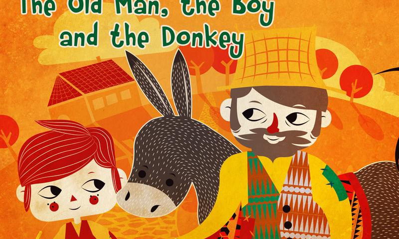 The man, boy and donkey- screenshot