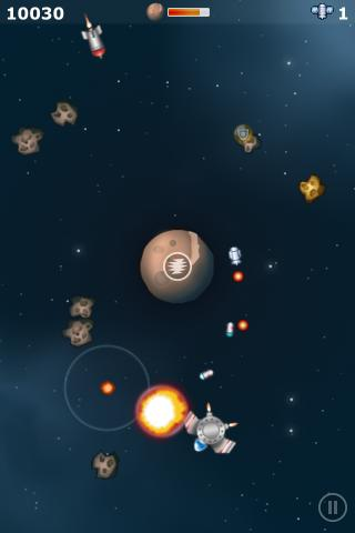 Orbital Defender Lite- screenshot