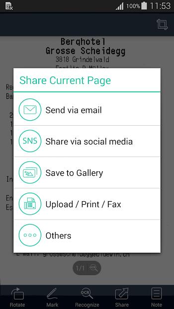 CamScanner -Phone PDF Creator- screenshot
