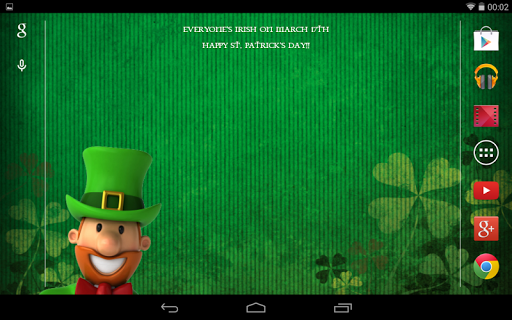 個人化必備APP下載|St Patricks Day Live Wallpaper 好玩app不花錢|綠色工廠好玩App