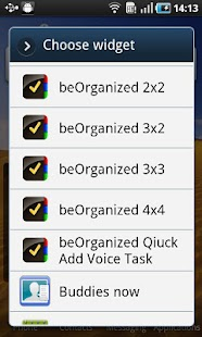 beOrganized Calendar and Tasks - screenshot thumbnail