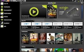 Screenshot of Watson