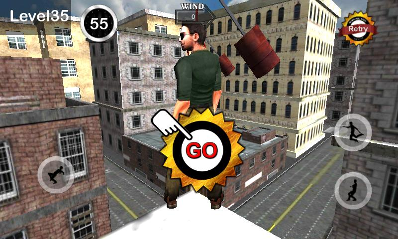 TightRope Walker 3D- screenshot