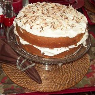 Cream of Coconut Cake.