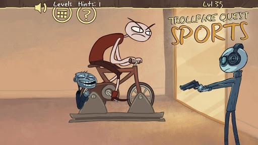 無料解谜AppのTroll face Quest Sports puzzle|記事Game