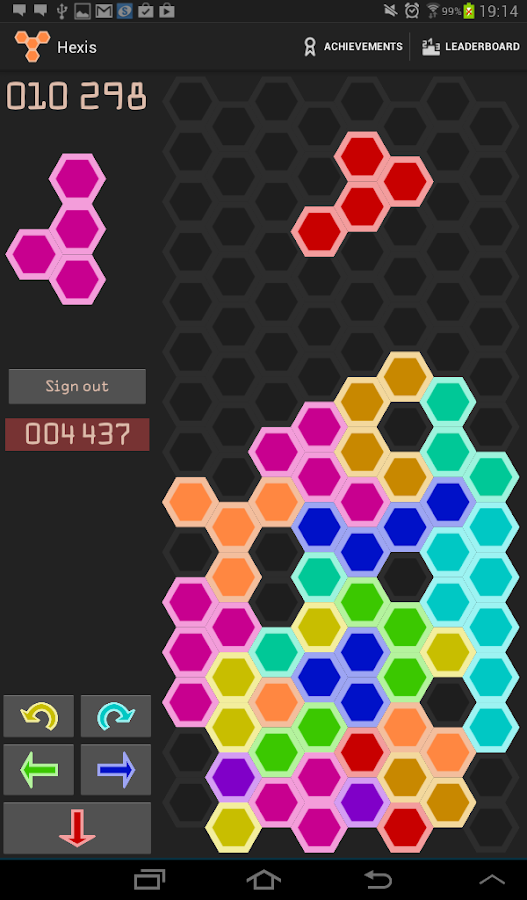 Hexis- screenshot