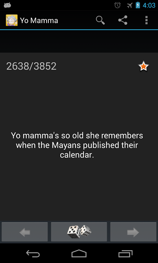 Yo Mamma Jokes - screenshot