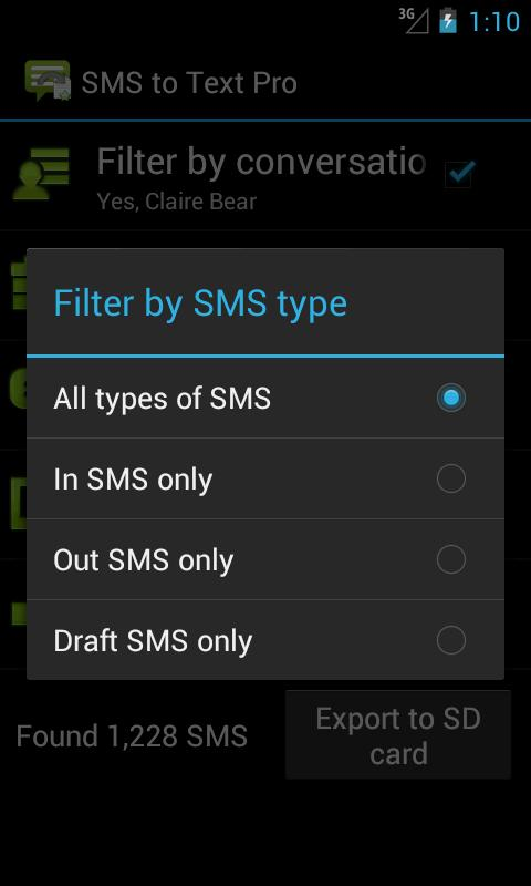SMS to Text Pro- screenshot