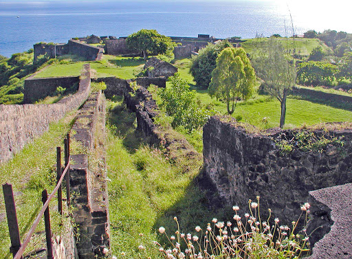 fort-louis-delgres-guadeloupe - Fort Louis Delgrès in Basse-Terre, capital of Guadeloupe.