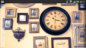 Screenshot of Clock Live Wallpaper