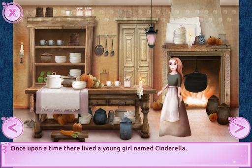Cinderella Story Fun Educational Girls Games 1.4.0 Screenshots 2
