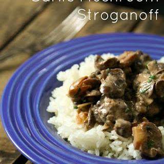 Garlic Mushroom Stroganoff
