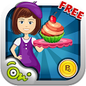 Cup Cake Mania Stand-Kids Game icon