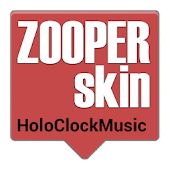 Holo Clock Music for Zooper