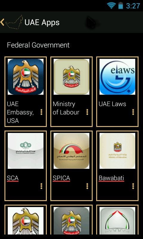 UAE Government Apps- screenshot