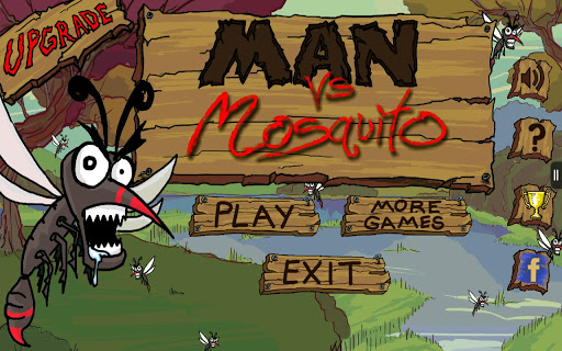 Man Vs Mosquito