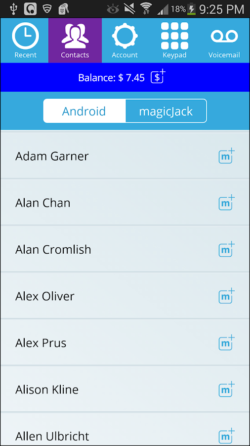 magicApp: Free Calls - screenshot