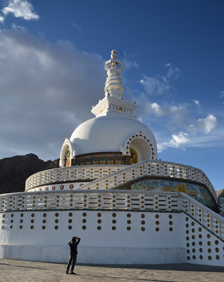 Leh Stupa by Laura DeSimone - Buildings & Architecture Places of Worship