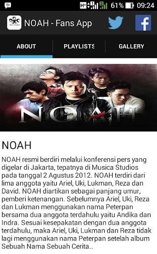 NOAH Band Unofficial
