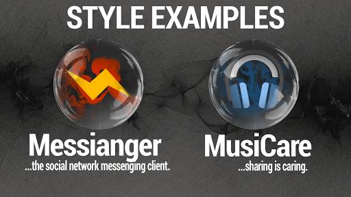 Smoke & Glass Icon Pack screenshot 3