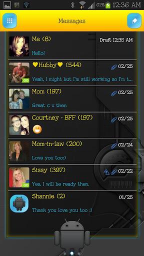 GO SMS - Tech Droid Guy
