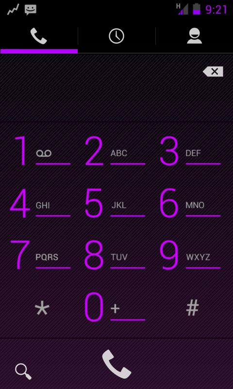 TESLA PURPLE CM / AOKP THEME - screenshot